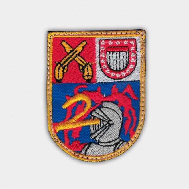Brasão bordado 2º Choque Oficiais