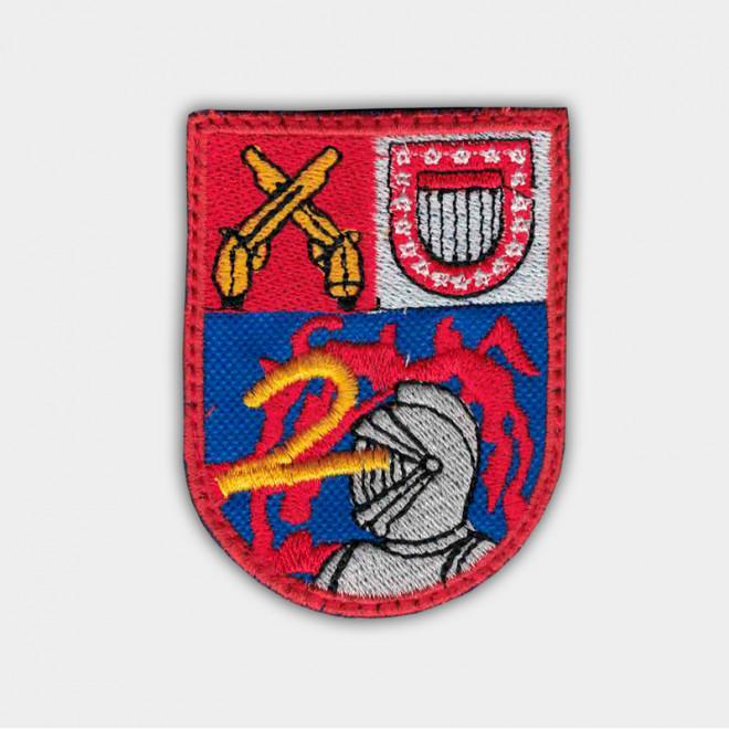 Brasão bordado 2º Choque Sargento