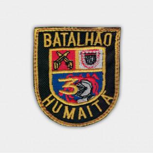 Brasão bordado 3º Choque - Bat. Humaitá