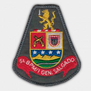 Brasão Bordado 5º BPM/I Gen. Salgado