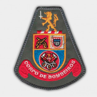 Brasão Bordado Corpo de Bombeiros
