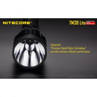 Lanterna recarregavel Nitecore TM38 Lite 1400 metros