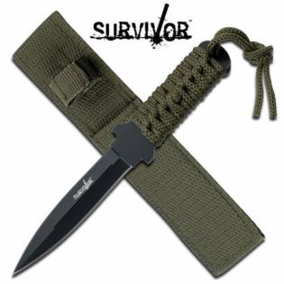 Faca Survivor HK com empunhadura em corda