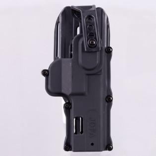 Coldre Polimero Trava Dupla JF - 380, PT 100, Glock, 38/4