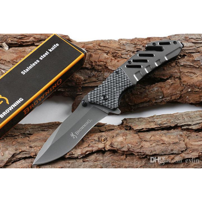 Canivete Browning Carbon