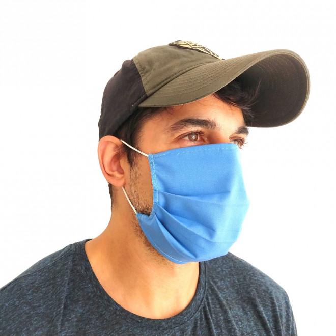 Mascara de proteção Lavável Tecido camada dupla - Pacote 5