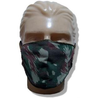Mascara de Proteção Lavável Malha -Camo Exercito - Pacote com 3