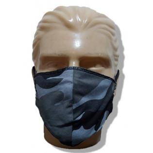 Mascara de Proteção Lavável Malha -Camo Urbano - Pacote com 3
