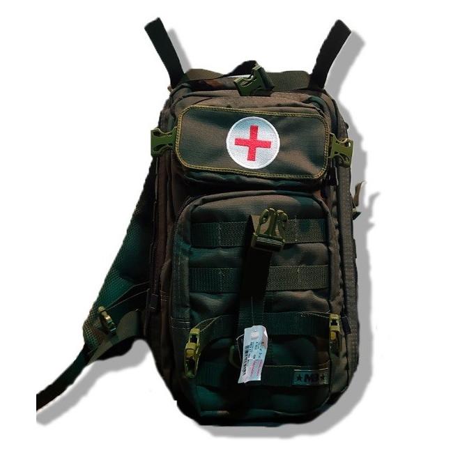 Porta Kit Primeiro Socorros Profissional Modelo 04 - Verde