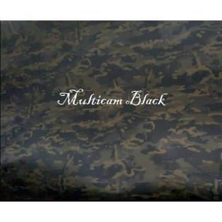 Tecido Rip Stop Profissional - Camo Multicam Black