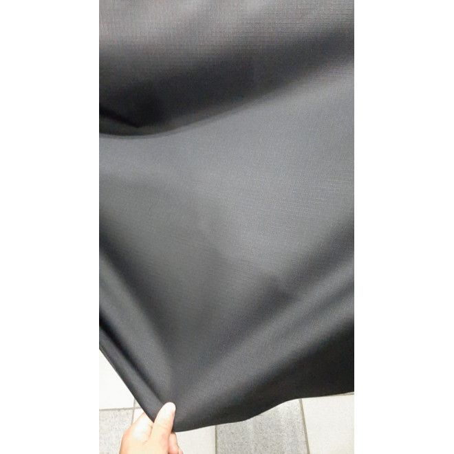 Tecido Rip Stop Poliéster 600 - Preto
