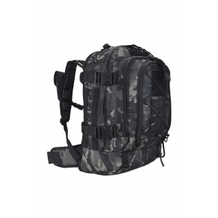 Mochila For War Camo Multicam Black