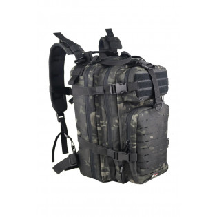 Mochila Assalt Tactical Multicam Black