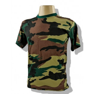 Camiseta Militar Manga Curta - Camo U.S.A.