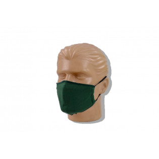Mascara de Proteção Lavável Malha - Verde - Pacote com 3