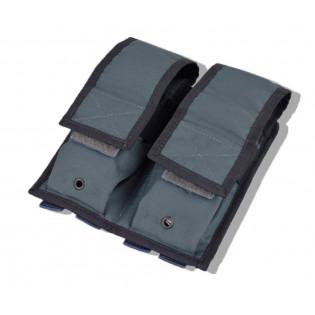 Porta Carregador Duplo Fuzill Molle T2 - Cinza