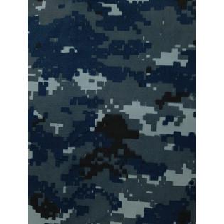 Tecido Comfort - Camo Navy Digital