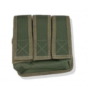 Porta Carregador Pistola Triplo k-12 - Verde
