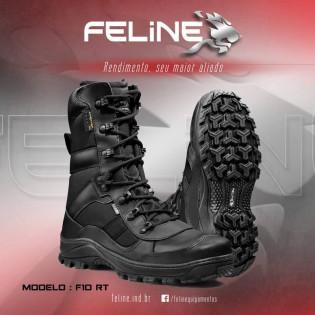 Bota Feline F10 RT - Preto