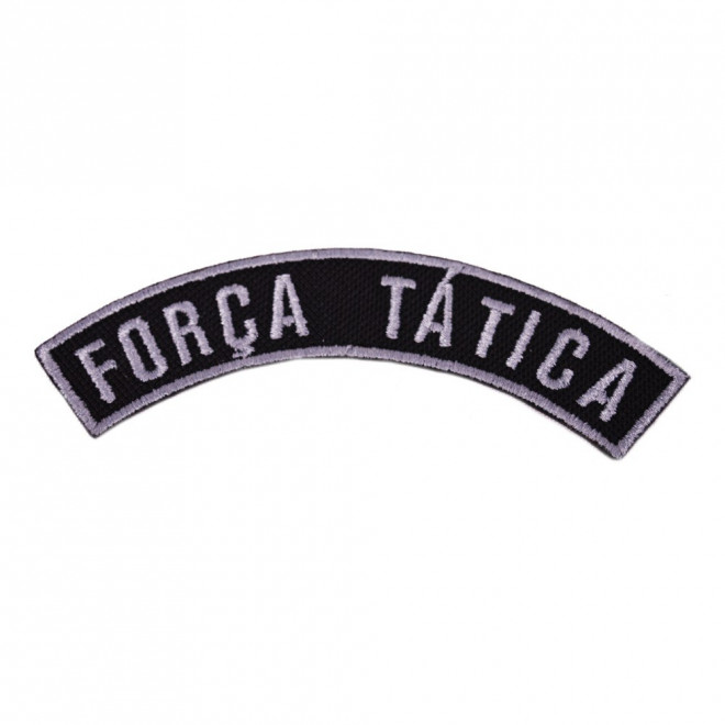 Bordado Tarja Força Tática