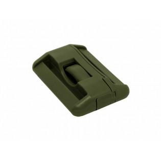 Fivela Nylon Vertical 50mm - Verde