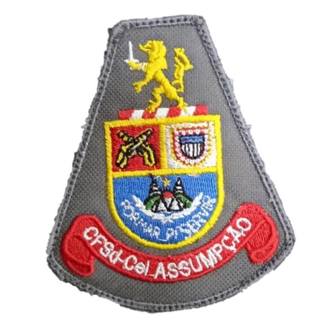 Brasão bordado CFSD CEL Assumpção
