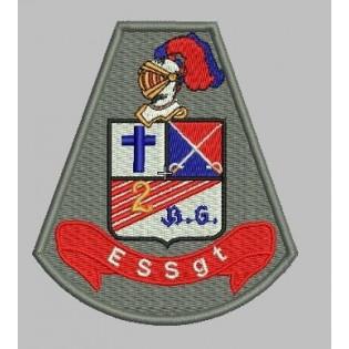 Brasão Bordado Escola Superior de Sargento