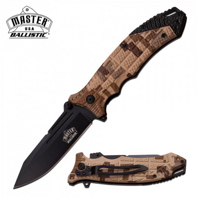 Canivete Master USA by Master Cutlery abertura assistida MU-A040DG