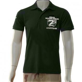 Camisa Polo Israel Defense Force - Verde