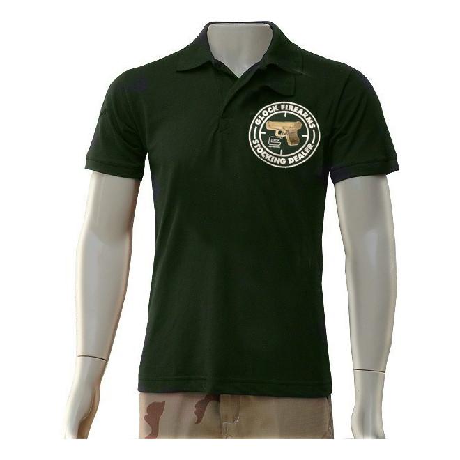 Camisa Polo Glock - Verde