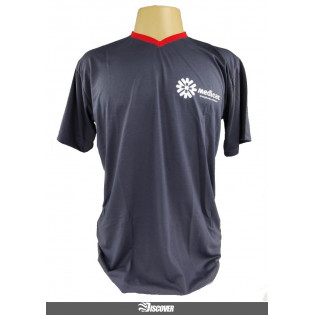 Camiseta Medicar - Cinza