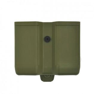 Porta Carregador Duplo Polímero Clip - Verde