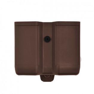 Porta Carregador Duplo Polímero - Marrom