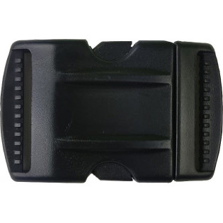 Fivela Plastica 50mm - Preto