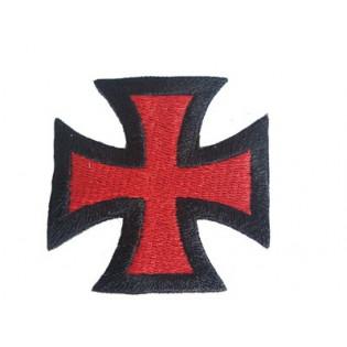 Bordado Cruz de Ferro Vermelha