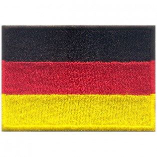 Bordado Bandeira Alemã Grande
