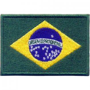 Bordado Bandeira do Brasil Oficial Grande