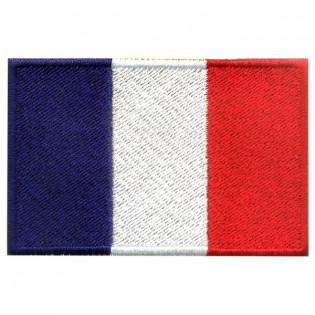 Bordado Bandeira da França Grande