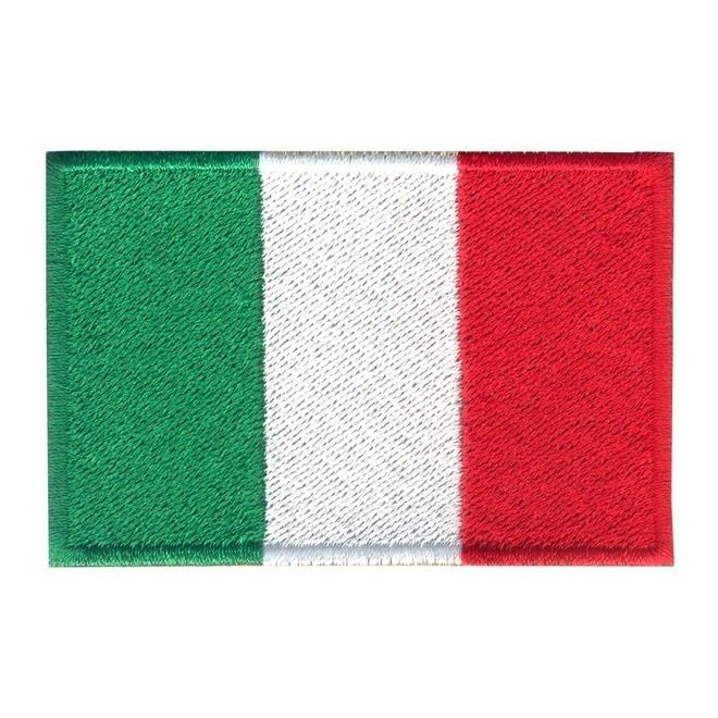 512cbc5546 Bordado Bandeira Italia Grande - Militar Brasil - artigos militares ...