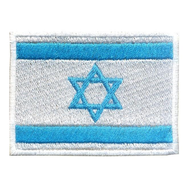 fa68d6942b Bordado Bandeira Israel Grande - Militar Brasil - artigos militares ...