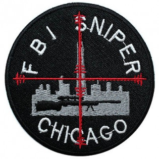 Bordado FBI Sniper Chicago