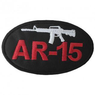 Bordado AR-15 - Elipse F. Preto