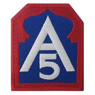Bordado A5 - 5 Exército Aliado
