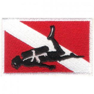 Bordado Mergulhador Bandeira