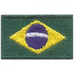 Bordado Bandeira do Brasil Oficial PQ