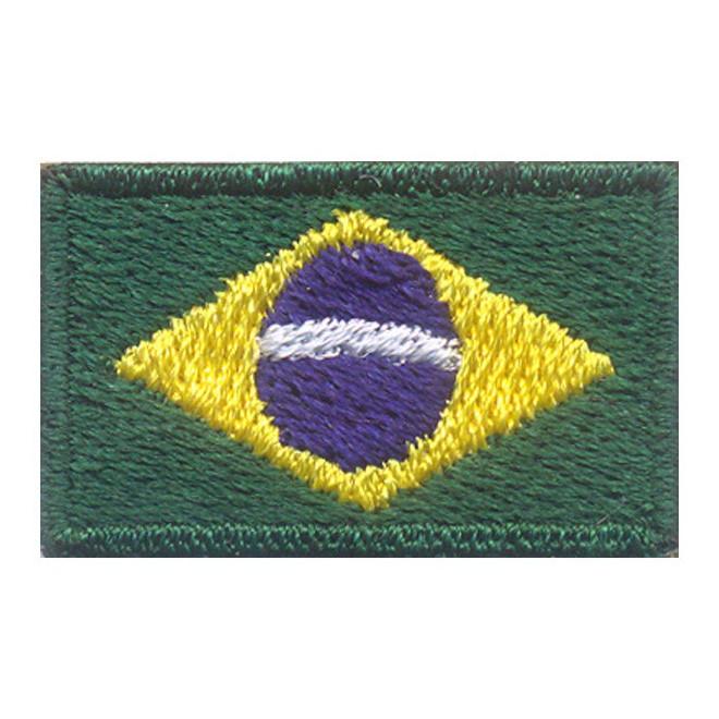 1520143bb9 Bordado Bandeira Brasil Oficial PQ - Militar Brasil - artigos ...