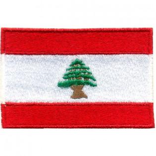 Bordado Bandeira do Libano Grande