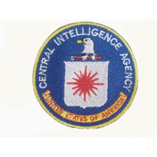 Bordado CIA - Central Inteligence Agency