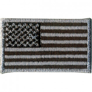 Bordado Bandeira U.S.A. Negativa Media