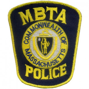 Bordado MBTA Police - CommonWealth Of Massachusetts